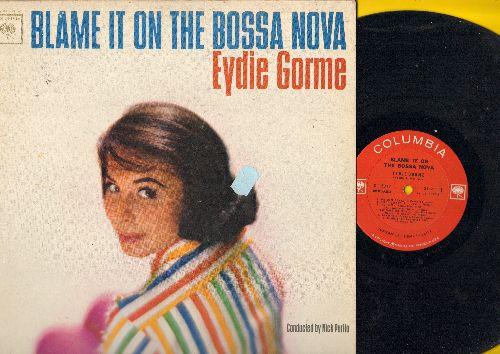 Gorme, Eydie - Blame It On The Bossa Nova: One Note Samba, Melody D'Amour, I Remember You, Moon River (vinyl MONO LP record) - EX8/EX8 - LP Records
