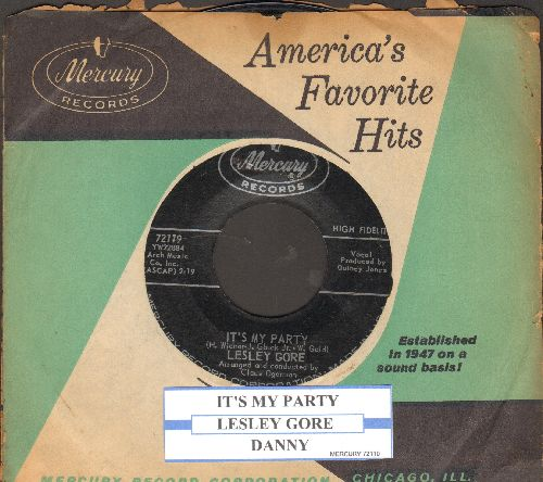 Gore, Lesley - It's My Party/Danny (with vintage Mercury company sleeve) - EX8/ - 45 rpm Records