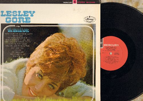 Gore, Lesley - Lesley Gore Sings All About Love: Young Love, To Know Him Is To Love Him, Will You Love Me Tomorrow, Start The Party Again (Vinyl STEREO LP record) - NM9/EX8 - LP Records