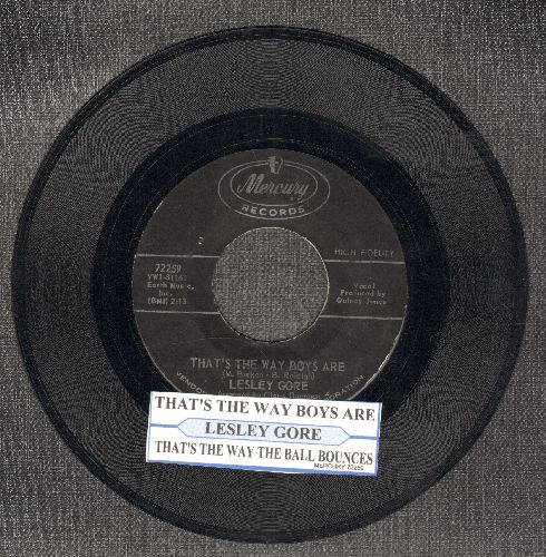 Gore, Lesley - That's The Way Boys Are/That's The Way The Ball Bounces (with juke box label) - VG7/ - 45 rpm Records