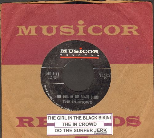 In Crowd - Do The Surfer Jerk/The Girl In The Black Bikini (with juke box label and Musicor company sleeve) - NM9/ - 45 rpm Records