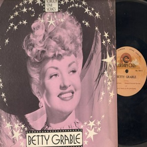 Grable, Betty - Betty Grable - Silver Screen Star Series, including Judy Garland, Harry James & Orchestra (Vinyl MONO LP record) - VG7/EX8 - LP Records