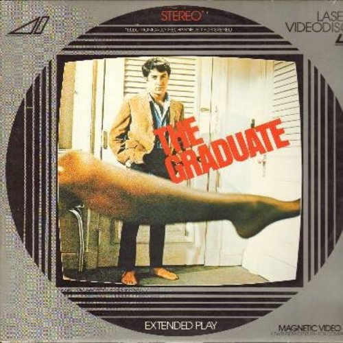 The Graduate - The Graduate - The 1967 Classic Comedy Drama starring Dustin Hoffman and Anne Bancroft featuring the legendary Sound Track by Simon & Garfunkel - THIS IS A LASER DISC, NOT ANY OTHER KIND OF MEDIA! - NM9/EX8 - Laser Discs