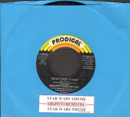 Graffiti Orchestra - Star Wars Theme (Long and Short Version, with juke box label) - NM9/ - 45 rpm Records