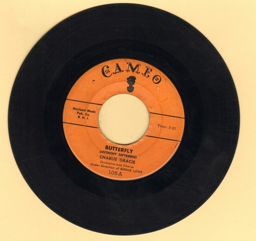 Gracie, Charlie - Butterfly/Ninety-Nine Ways - VG6/ - 45 rpm Records