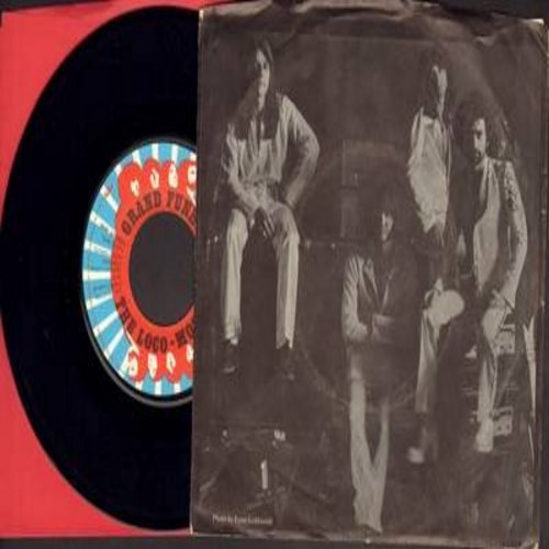 Grand Funk - The Loco-Motion/Desperate & Losin' (1974 Rock Version of 1962 Little Eva NOVELTY Record - with picture sleeve) - NM9/EX8 - 45 rpm Records