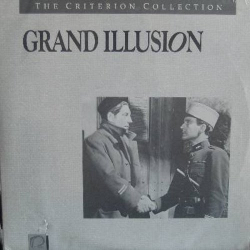 Grand Illusion - Grand Illusion - The 1938 French Classic with English Subtitles and BONUS features - This is a set 2 LASER DISCS, NOT ANY OTHER KIND OF MEDIA! - NM9/NM9 - Laser Discs