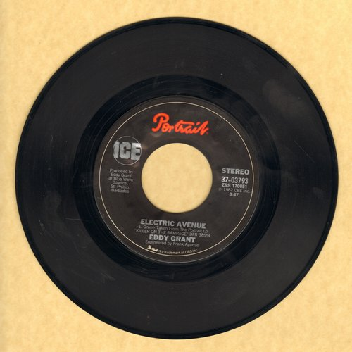Grant, Eddy - Electric Avenue/Time Warp - EX8/ - 45 rpm Records