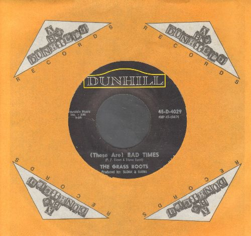 Grass Roots - Where Were You When I Needed You/(There Are) Bad Times (with company sleeve) - NM9/ - 45 rpm Records