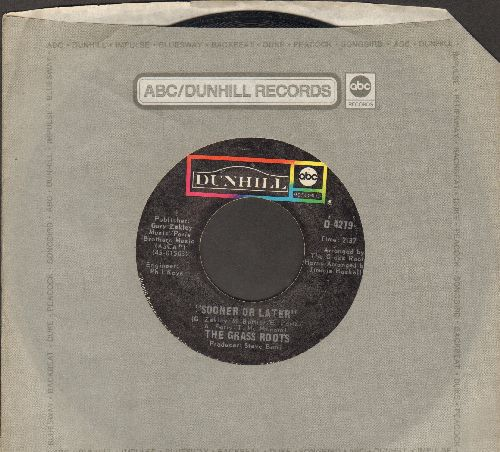 Grass Roots - Sooner Or Later/I Can Turn Off The Rain (with ABC company sleeve) - VG7/ - 45 rpm Records