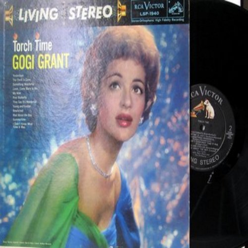Grant, Gogi - Torch Time: Bewitched, They Say It's Wonderful, Summertime, Mad About The Boy, The Thrill Is Gone (Vinyl STEREO LP record) - EX8/EX8 - LP Records