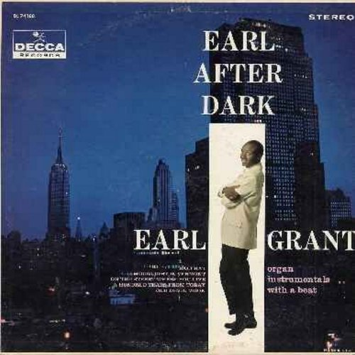 Grant, Earl - Earl After Dark: Bali Ha'I, On The Street Where You Live, All The Way, Old Devil Moon (Vinyl STEREO LP record) - NM9/VG7 - LP Records