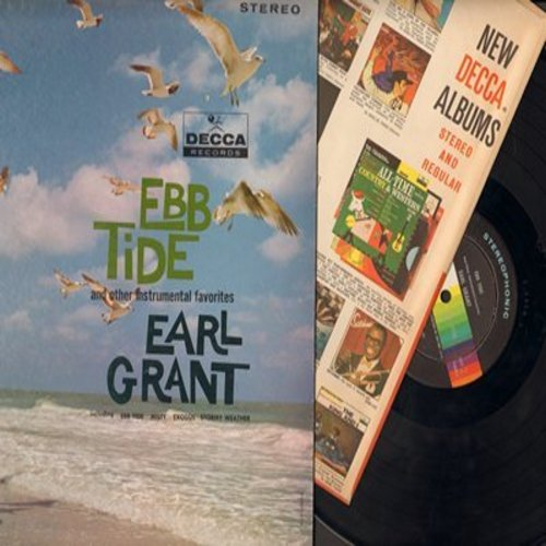Grant, Earl - Ebb Tide - And Other Instrumental Favorites: Misty, Exodus, Stormy Weather, Bewitched, I'm In The Mood For Love, Deep Purple (Vinyl STEREO LP record) - NM9/NM9 - LP Records