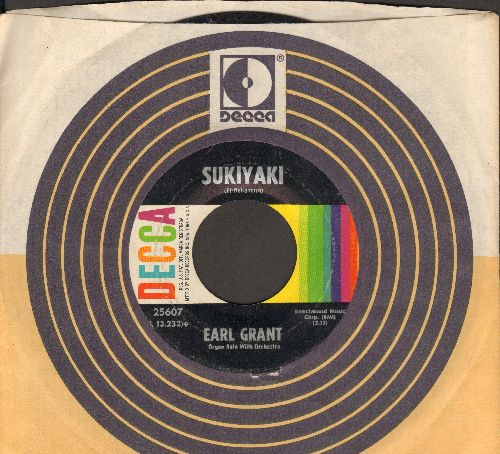 Grant, Earl - Sukiyaki/More (with Decca company sleeve) - EX8/ - 45 rpm Records