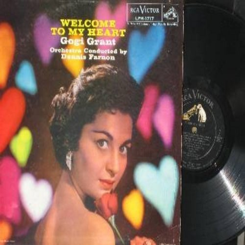 Grant, Gogi - Welcome To My Heart: The More I See You, How Deep Is The Ocean, Love Letters, Love Walked In (Vinyl MONO LP record) - EX8/EX8 - LP Records