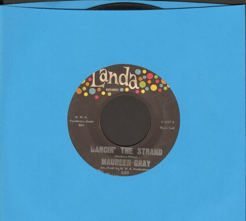 Gray, Maureen - Dancin' The Strand/Oh My - VG7/ - 45 rpm Records