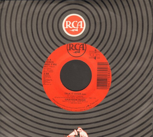 Hugh, Grayson - Talk It Over/Empty As The Wind (SAM COOKE Sound-Alike!) (with RCA company sleeve) - NM9/ - 45 rpm Records