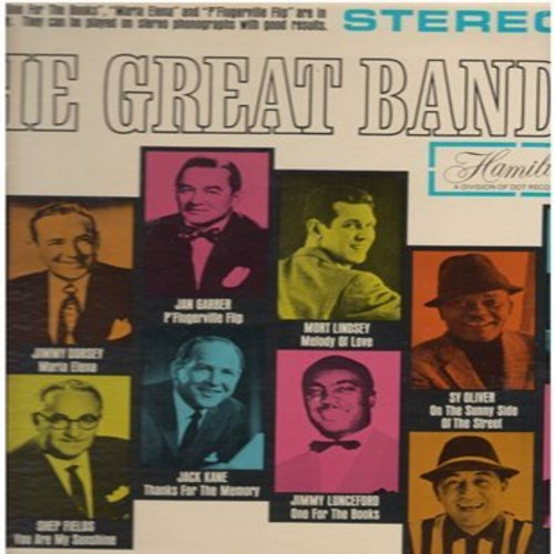 Crosby, Bob, Jimmy Dorsey, Louis Prima, Sy Oliver, others - The Great Bands: Honky Tonk Train, You Are My Sunshine, On The Sunny Side Of The Sreet, Tangerine (Vinyl STEREO LP record) - NM9/NM9 - LP Records