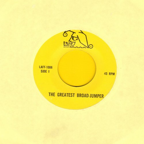 Laff Comics - The Greatest Broad-Jumper/House With The Little Red Light - M10/ - 45 rpm Records