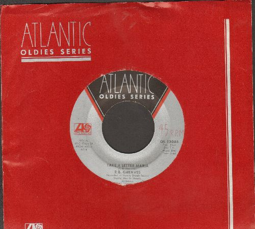 Greaves, R.B. - Take A Letter Maria (Definitive VEGAS SOUND!)/Always Something There To Remind Me (double-hit re-issue with company sleeve) - EX8/ - 45 rpm Records