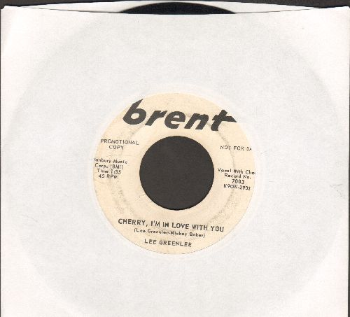 Greenlee, Lee - Cherry, I'm In Love With You/Starlight (DJ advance pressing) - VG7/ - 45 rpm Records