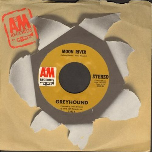 Greyhound - Moon River (ENCHANTING vocal version of the Mancini Classic)/I've Been Trying - M10/ - 45 rpm Records
