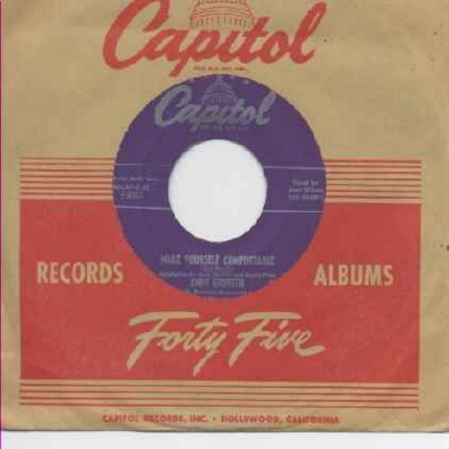Griffith, Andy - Make Yourself Comfortable/Ko Ko Mo I Love You So (with vintage Capitol company sleeve) - EX8/ - 45 rpm Records