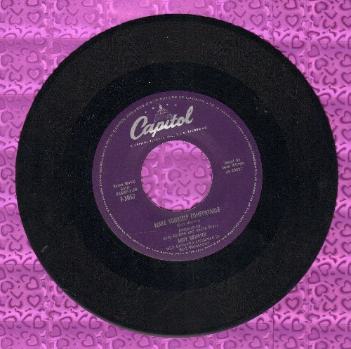 Griffith, Andy - Make Yourself Comfortable/Ko Ko Mo I Love You So  - EX8/ - 45 rpm Records