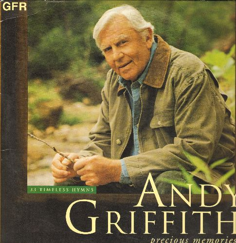 Griffith, Andy - Precious Memories - 33 Timeless Hymns (2 vinyl LP record set) - NM9/NM9 - LP Records