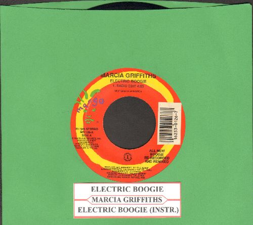Griffiths, Marcia - Electric Boogie(aka Electric Slide - PARTY FAVORITE!)/Electric Boogie (Instrumental) (with juke box label) - EX8/ - 45 rpm Records