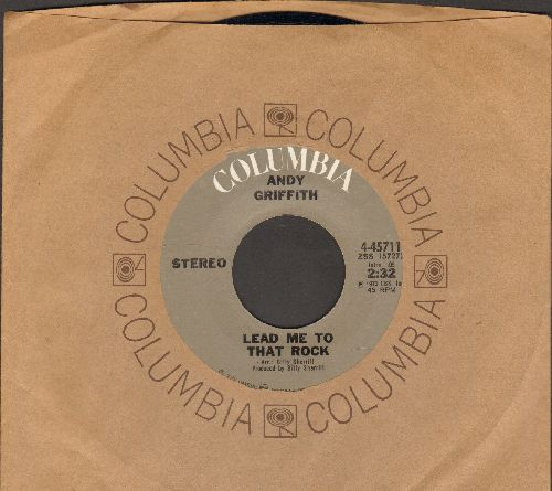 Griffith, Andy - Lead Me To That Rock/Somebody Bigger Than You And I (with Columbia company sleeve) - NM9/ - 45 rpm Records