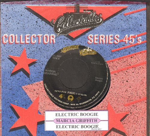Griffiths, Marcia - Electric Boogie (Electric Slide)/Electric Boogie (Instrumental) (re-issue with juke box label and company sleeve) - EX8/ - 45 rpm Records