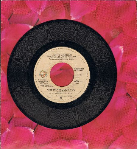 Graham, Larry - One In A Million You (FAVORITE for BRIDAL DANCE!)/The Entertainer - EX8/ - 45 rpm Records