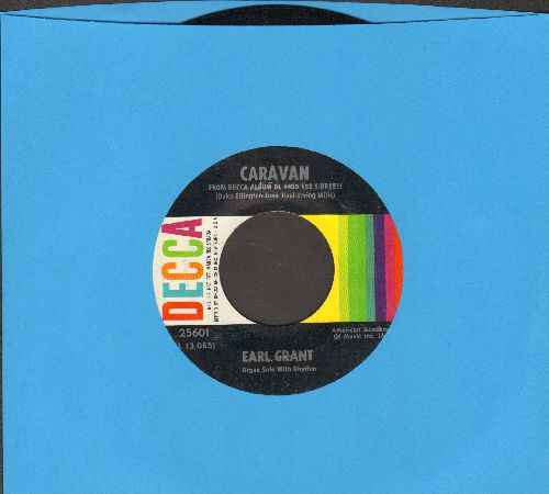 Grant, Earl - Caravan/I'll Build A Stairway To Paradise  - NM9/ - 45 rpm Records