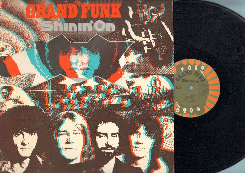 Grand Funk - Shinin' On: The Loco-Motion, Mr. Pretty Boy, Little Johnny Hooker, Carry Me Through (vinyl STEREO LP record) - EX8/EX8 - LP Records