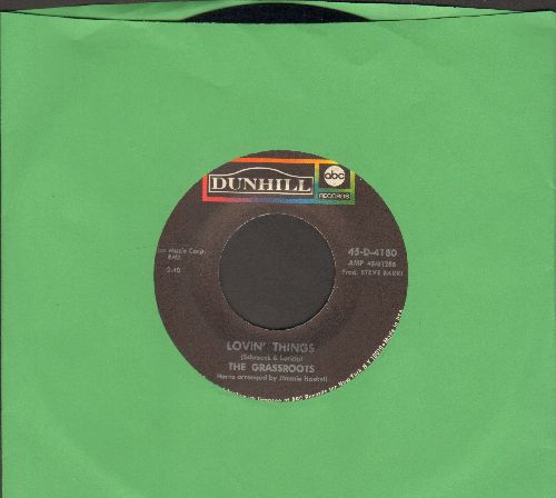 Grass Roots - Lovin' Things/You & Love Are The Same - NM9/ - 45 rpm Records