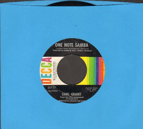Grant, Earl - One Note Samba/My Foolish Heart  - EX8/ - 45 rpm Records