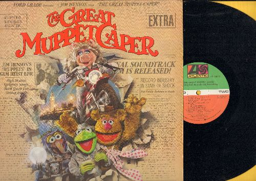 Great Muppet Caper - The Great Muppet Caper - Original Motion Picture Sound Track, includes the Love Theme -The First Time It Happens- by Miss Piggy & Kermit (Vinyl STEREO LP record) (sol) - NM9/EX8 - LP Records