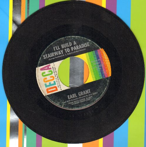 Grant, Earl - I'll Build A Stairway To Paradise (RARE vocal version)/Caravan - VG7/ - 45 rpm Records