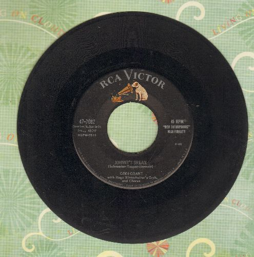 Grant, Gogi - Johnny's Dream/What A Beautiful Combination (with RCA company sleeve and juke box label) - VG7/ - 45 rpm Records