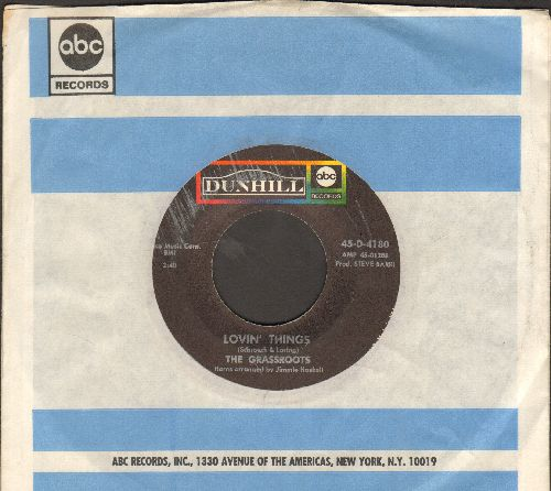 Grass Roots - Lovin' Things/You & Love Are The Same (with company sleeve) - EX8/ - 45 rpm Records