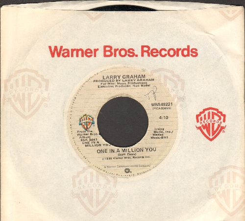 Graham, Larry - One In A Million You (FAVORITE for BRIDAL DANCE!)/The Entertainer (with Warner Brothers company sleeve) - NM9/ - 45 rpm Records