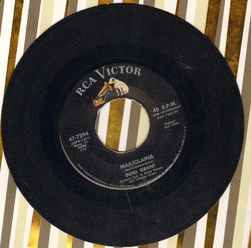 Grant, Gogi - Marjolaine/Strange Are The Ways Of Love  - NM9/ - 45 rpm Records