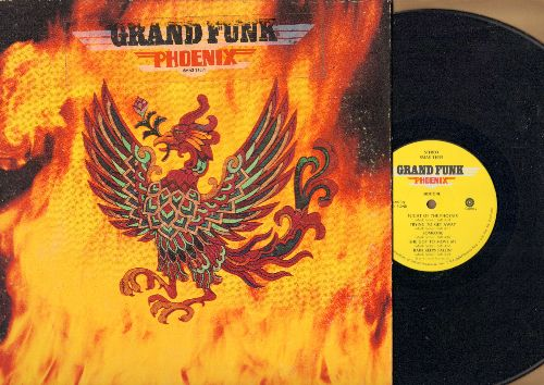 Grand Funk - Phoenix: Flight Of The Phoenix, Rock'n Roll Soul, She Got To Move Me (vinyl STEREO LP record, gate-fold cover) - EX8/EX8 - LP Records
