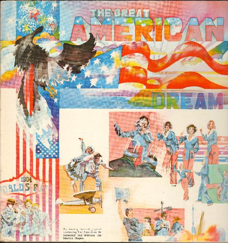 Sanborn Singers - The Great American Dream - A Musical Celebrating The American Bi-Centennial (vinyl STEREO LP record, gate-fold cover with color picture pages!) - NM9/NM9 - LP Records