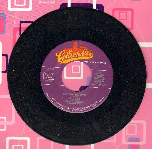 Green, Al - Let's Get MarriedSha-La-La (Make aMe Happy) (double-hit re-issue) - NM9/ - 45 rpm Records