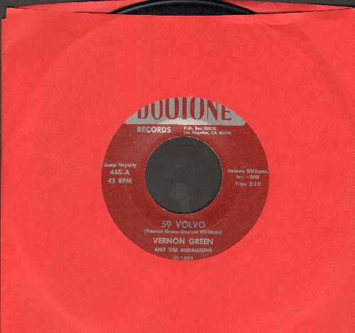 Green, Vernon & The Medallions, Cleve Duncan & The Penguins - 59 Volvo/Magic Motion (authentic-looking re-issue) - NM9/ - 45 rpm Records