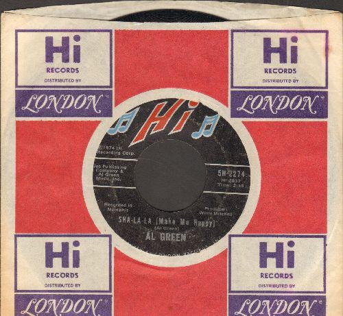 Green, Al - Sha-La-La (make Me Happy)/School Days (with Hi company sleeve) - VG7/ - 45 rpm Records