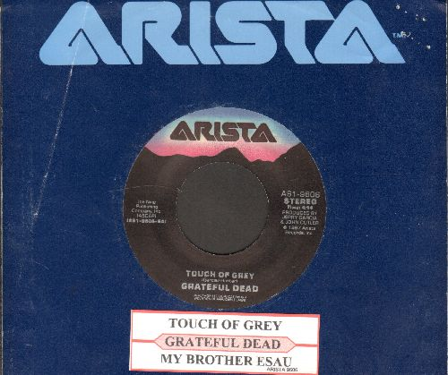 Grateful Dead - Touch Of Grey/My Brother Esau (with juke box label and Arista company sleeve) - EX8/ - 45 rpm Records