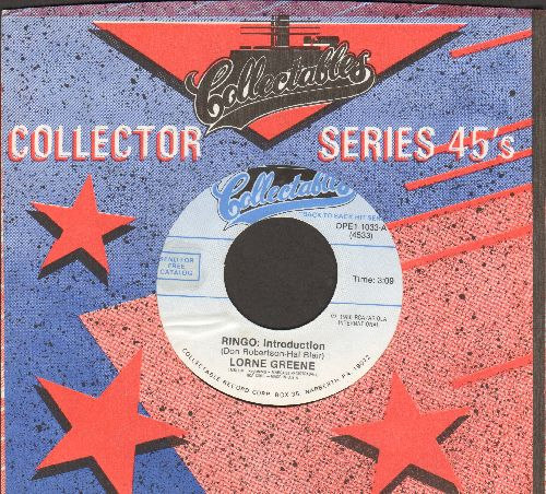 Greene, Lorne - Ringo: Introduction/Ponderosa (re-issue with Collectables company sleeve) - M10/ - 45 rpm Records